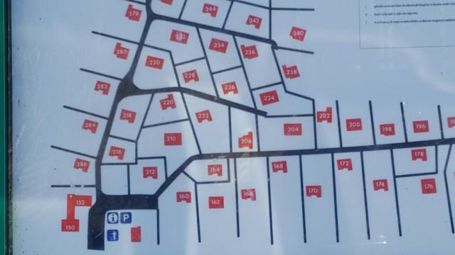 Lageplan Ferienhaus Texel De Parel