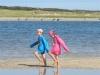 Zwillinge am Strand